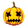 calabaza de Halloween — Vector de stock  #56321559