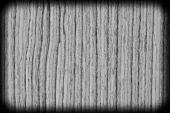 Bakgrundsstruktur av svart och vitt trä närbild med vinjett — Stockfoto