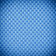 Background texure of bright blue fabric closeup with vignette — Stock Photo #63526939