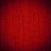 Background texture of dark red fabric closeup with vignette — Stock Photo