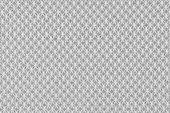 второстепенная структура черно-белого крупного плана ткани — Стоковое фото