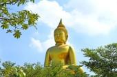 Big Golden Buddha in Thailand. — Stock Photo