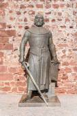 Statute of king Sancho I — Stock Photo