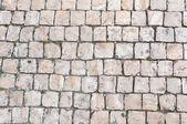 Primo piano di pavimentazione tipica portoghese, calcada — Foto Stock