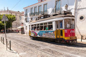 Famous Lisbon tram number 28 — Stock Photo