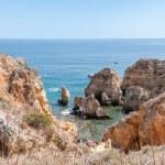 Ponta da Piedade, rock formations near Lagos in Portugal — Stock Photo #55331021