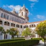 Courtyard of Alcobaca Monastery — Stock Photo #57943013