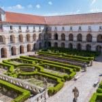 Courtyard of Alcobaca Monastery — Stock Photo #57943051