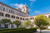 Courtyard of Alcobaca Monastery — Stock Photo