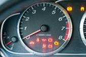 Closeup of car tachometer — Stock Photo