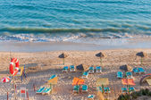 Falesia Beach seen from the cliff — Stock Photo