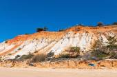 Cliffs at Praia da Falesia — Stock Photo
