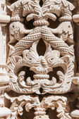 Architectural details of The Unfinished Chapels in Batalha Monastery — Stock Photo