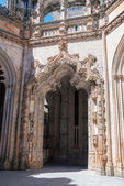 Portal of The Unfinished Chapels in Batalha Monastery — Stock Photo