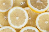 Background made of grapefruit slices — Stock Photo