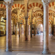 Interior of the Great Mosque in Cordoba — Stock Photo #70950649