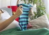 Esperando un bebé — Foto de Stock