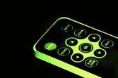Glowing remote control — Stock Photo