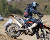Moto cross — Stock Photo