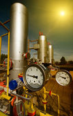 Natural gas industry — Stockfoto