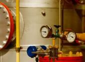Industria del gas natural — Foto de Stock