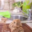 Home made bread — Stock Photo #66899185