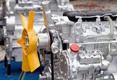 Tractor engine — Foto de Stock