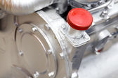 Engine detail — Stock Photo