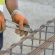 Worker fixing armature — Stock Photo #75381363