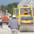 Supervisor at building site — Stock Photo #81239510