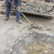 Removing rubble from the road — Stock Photo #54111485