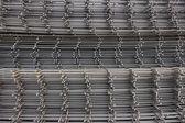 Reinforcement steel mesh background 2 — Stock Photo