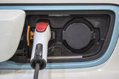 Charge electric car — Stock Photo