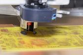 Scheda a circuiti stampati 2 di perforazione — Foto Stock