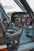 The cabin of the helicopter — Stock Photo
