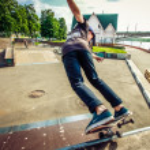 Skateboarder — Stock Photo #75344121
