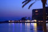 Blue hour in Cala Estancia — Stock Photo