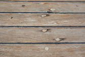 Caulked boat floorboard — Stockfoto