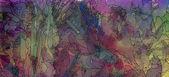 多彩的水彩和水墨背景 — 图库照片