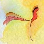 Red bird — Stock Photo #56081947