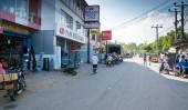 вид на улицу в тангалле — Стоковое фото