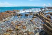 Rocky coast landscape — Stock Photo