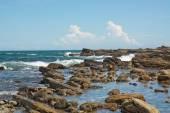 Kayalık sahil peyzaj — Stok fotoğraf