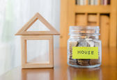 Saving for a home — Stock Photo