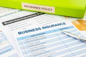 Business insurance planning for risk management — Стоковое фото