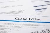 Claim form — Stock Photo