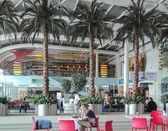 MUMBAI, MAHARASHTRA, INDIA - 13 NOV: Chhatrapati Shivaji International Airport on NOV. 13, 2014 in Mumbai, Maharashtra, India. — Stock Photo