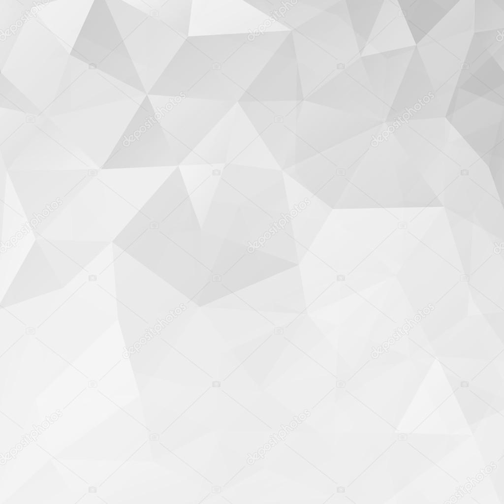 Fondo De Triángulo Geométrico Abstracto Blanco