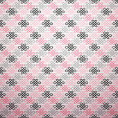 Romantic vector pattern — Vecteur