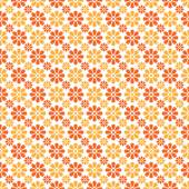 Autumn vector seamless pattern. Endless texture — ストックベクタ